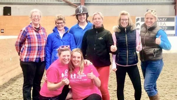 Horse riding centre giddies up to raise cash for charity