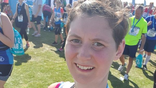 Newborn's battle for survival spurs mum to complete run for charity that kept them together