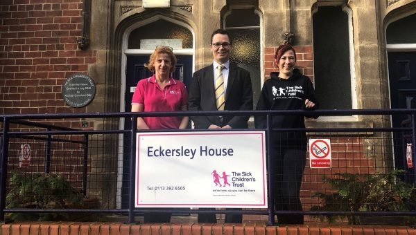 Law firm set their sights on raising £30,000 for Eckersley House