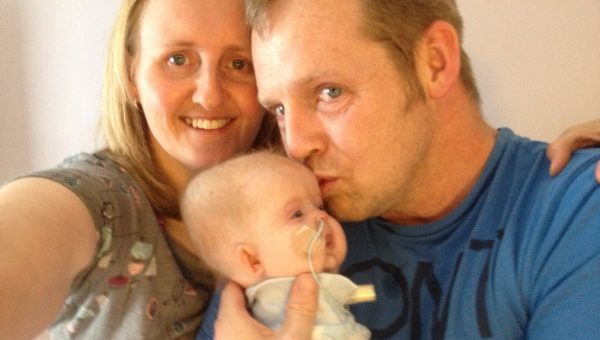 The Sick Children's Trust kept our family together at the worst time