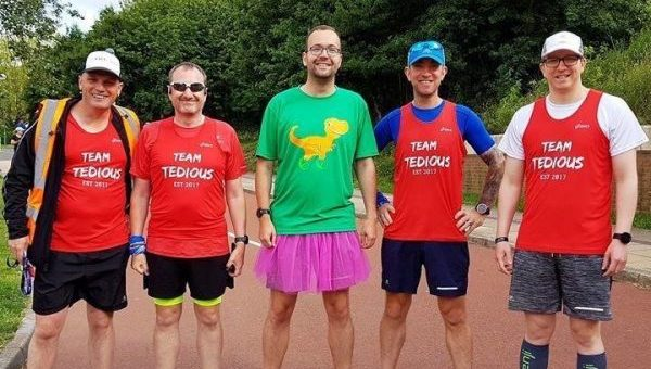 Runners' embark on 12 hour relay to raise money to keep families together