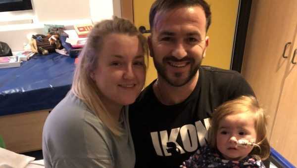 Suffolk couple back Together this Christmas appeal to give other families with a seriously ill child in hospital a 'Home from Home'