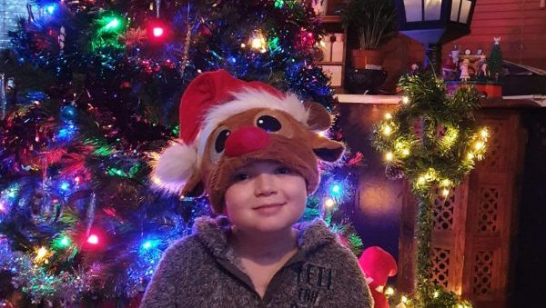 Nine year old Kori gets ready for Christmas after second heart transplant