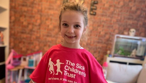 Five year old girl's incredible fundraiser to support sick children