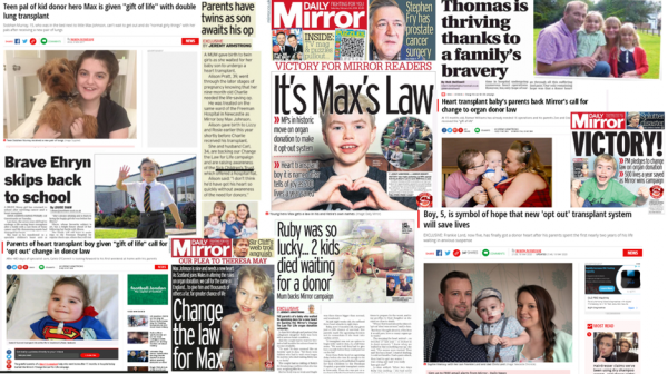 Together we can create change and have an impact – one year since Max and Keira's law