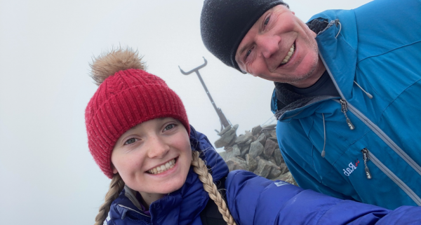 Family's epic 12,000 foot climb to support The Sick Children's Trust