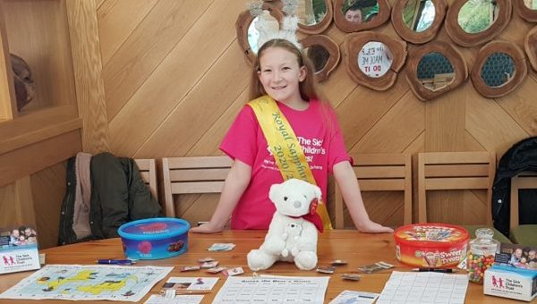 12 year old pageant finalist uses platform to help families with seriously ill children in Newcastle hospitals