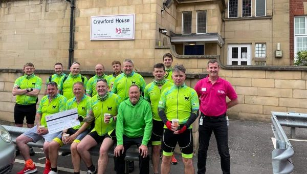 Smile for Miley celebrate raising £33,000 for 'Home from Home' Crawford House